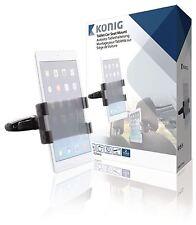 Konig Universal Tablet Car Seat Headrest Mount 360° 140 To 240mm Tablet Mount