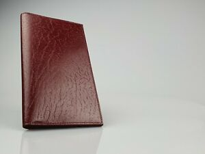 Burgundy Leather Long Wallet (95mm x 175mm) *New in Box* - 111