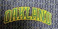 MLB OAKLAND A'S Iron or Sew-On Patch