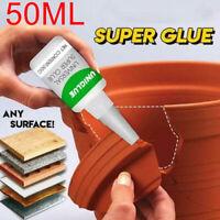 Uniglue Universal Superkleber Starker Kunststoffkleber 50ML Groß