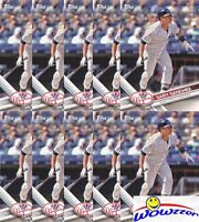 (10) 2017 Topps #NYY-13 Gary Sanchez All Star Rookie Lot MINT Yankees