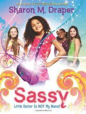 Complete Set Series - Lot of 4 Sassy books by Sharon M. Draper YA Little Sister