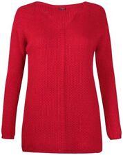 Jersey de mujer de color principal rojo talla 38