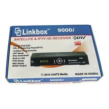 NEW LINKBOX 9000i HD LOCAL FTA / IPTV Satellite Receiver/wifi ant/LS 500 module