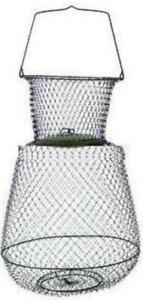 """Eagle Claw 11051-002 Jumbo Collapsible Wire Basket 19"""" x 30"""" 17385"""