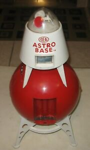 1960s IDEAL ASTRO BASE SPACE TOY VERY COOL NOT WORKING  STILL GOOD FOR PARTS
