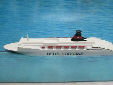 "Dfds Tor Line Ship Tor Britannia Excellent Condition All Metal 7"" Long"