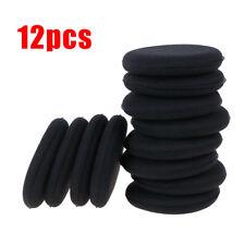 Esponja de Espuma De Microfibra Negro Aplicador De Cera Polaco Almohadillas Herramienta de Limpieza Coche Hogar