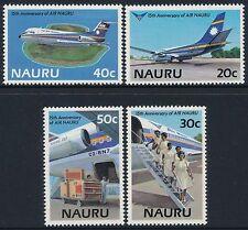 1985 NAURU 15th ANNIVERSARY OF AIR NAURU SET OF 4 FINE MINT MNH/MUH
