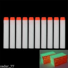 Glow Refill Bullet Darts for Nerf N-strike Elite Series toy Gun 7.2cm 100pcs