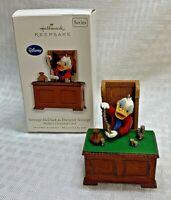 2010 Scrooge McDuck as Ebenezer Scrooge Hallmark Ornament Disney Christmas Carol