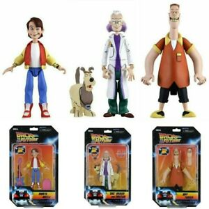 -=] NECA-Back to the Future: Toony Classics A.Figure set di 3 Marty Doc Biff [=-