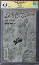 Amazing Spider-man Learning to Crawl # 1.5 9.8 CGC SS Stan Lee Sketch Variant