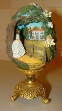 1998 Franklin Mint Egg Scarlett of Tara Gone with The Wind