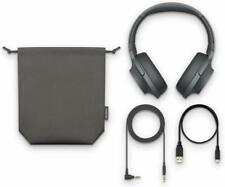 Sony WH-H900N h.ear on 2 Bluetooth Wireless Noise Canceling Stereo Headset Black