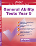 NEW EXCEL - GENERAL ABILITY TESTS YEAR 5 9781741251708 Free shipping for OC EXAM