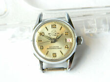 Vintage BULER LADIES WRIST WATCH w/ Date, Water Resistant, Swiss ca.1960