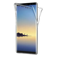 """Coque Silicone Gel ultra 360° Avant et Arrière Samsung Galaxy Note 8 6.3""""/ Note8"""