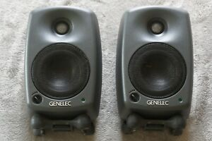 Genelec 8020C Pair of Active Monitor Speakers with Carrying Case