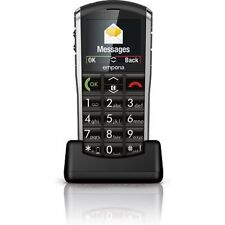 Emporia V25 Pure BIG BUTTON SENIOR MOBILE PHONE BLACK