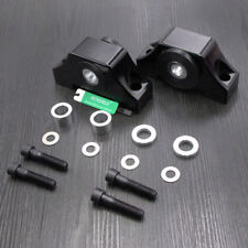 Engine Billet Motor Torque Mounts Kit Fit Honda Civic EG EK D16 B16 B20 Black