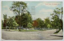 VINTAGE 1911 POSTCARD SCOTT PARK ELIZABETH NEW JERSEY NJ