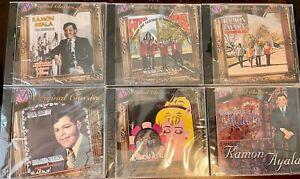 Ramon Ayala -- Por que - Ojitos Sonadores - Te Equivocaste - Etc.   6 CDs Total