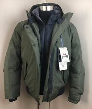 NEW Point Zero Men's Green Heavy Winter Ski COAT JACKET (Size Medium) NWT $325