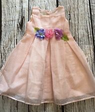 18-24 Months Monsoon Formal Bridesmaid Party Dress Pink Worn Once