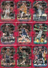 2020-21 Panini Prizm Basketball Parallel Cracked Ice Red - Pick a Card