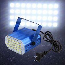 36x 5050 LED Disco DJ Stroboskop Lichteffekt Lasereffekt Blitzlicht Club Weiß