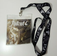 Fallout 4 PS4 Power Armor Lanyard ID Badge Holder Keychain