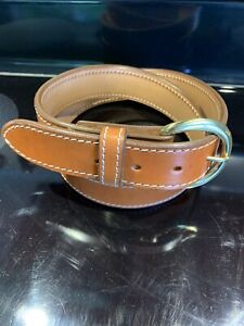 """New Triple K Leather Detective Belt 1 1/2"""" #333 Size 36 MADE IN USA NWOT!!!"""