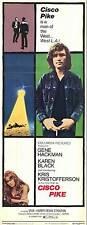 CISCO PIKE Movie POSTER 14x36 Insert Kris Kristofferson Karen Black Gene Hackman