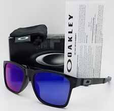 NEW Oakley Catalyst sunglasses Black Ink +Red Iridium 9272-06 AUTHENTIC red ruby