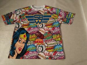 Wonder woman t shirt Dnvsports Hazmat 9 Large L
