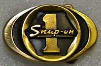 Snap-on Tools Vintage 1970's Solid Brass Socket 1 Belt Buckle Limited Edition #5