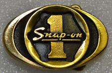 Snap-on Tools Vintage 1970's Solid Brass Socket 1 Belt Buckle Limited Edition #5