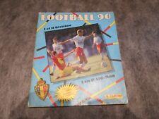 panini album football 90 belgique incomplet