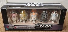 STAR WARS ASTROMECH DROID 5 PACK SERIES I - ENTERTAINMENT EARTH SAGA SEALED