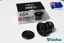 C&A 15mm F4 HD Wide Angle Camera Lens for Nikon