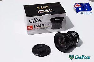 C&A 15mm F4 HD Wide Angle Camera Lens for Nikon