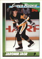 1991-92 Topps Hockey Cards Pick From List