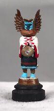 Daniel Kronberg Bronze Dollhouse Miniature - Native American Kachina Doll 7