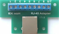 RJ-45 Adapter, Adapter für Patchkabel RJ45, CAT-5 Adapter, RJ45 Adapter