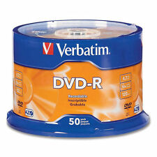 100 DVD - R VERBATIM 43522 4.7GB 16X AZO NUOVI cartone 100 PEZZI