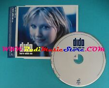 CD Singolo Dido Here With Me PR511 PROMO EUROPE 2000 no mc lp vhs(S25)