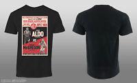 UFC Men's Old Retro UFC 189 Event Tee Shirt Black Small