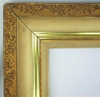 "BIG FITS 20"" X 16""  GOLD GILT ORNATE WOOD PICTURE FRAME FINE ART VICTORIAN"