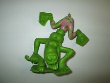 1963 Marx Nutty Mads Dippy the Deep Diver Louis Marx Green Plastic Figurine